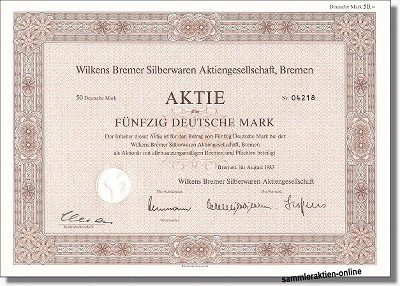 Wilkens Bremer Silberwarenfabrik AG