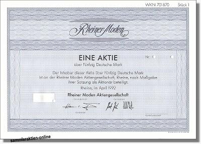 Rheiner Moden AG