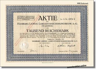 Hamburg Leipzig Lebensversicherungsbank AG - Generali - Thuringia