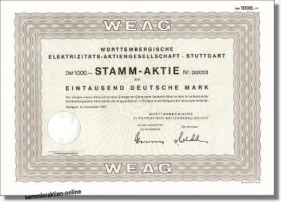 Württembergische Elektrizitäts-Aktiengesellschaft