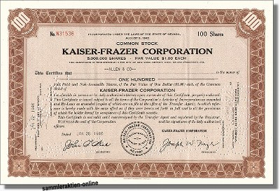 Kaiser-Frazer Corporation - Jeep
