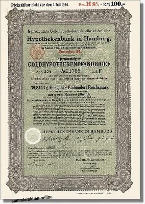 Hypothekenbank in Hamburg AG