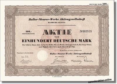 Haller Meurer Werke