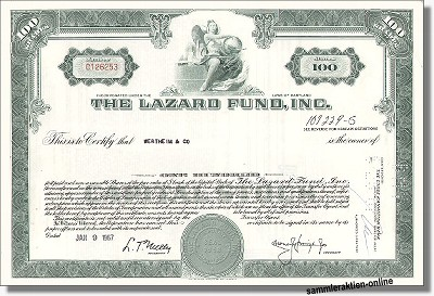 The Lazard Fund Inc.