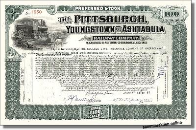 Pittsburgh, Youngstown & Ashtabula Railway Company