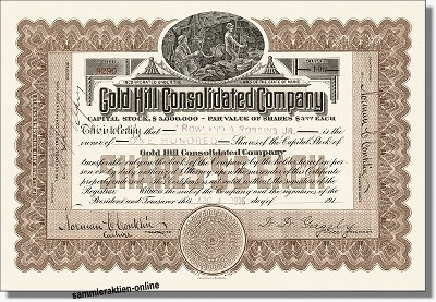 Gold Hill Consolidated Company