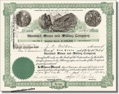 Standard Mines and Milling Company