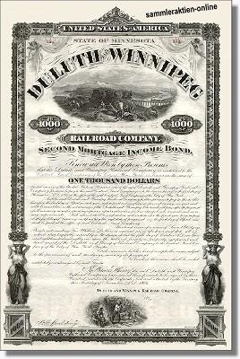 Duluth & Winnipeg Railroad Company