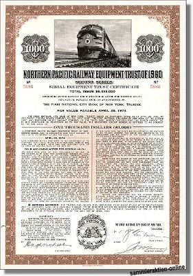 Northern Pacific Railway Equipment Trust