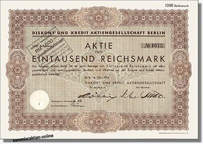 Diskont und Kredit AG