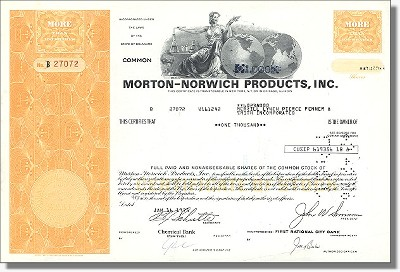 Morton-Norwich Products Inc. - jetzt Procter & Gamble