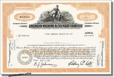 American Machine & Foundry Company