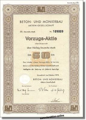 Beton- und Monierbau AG