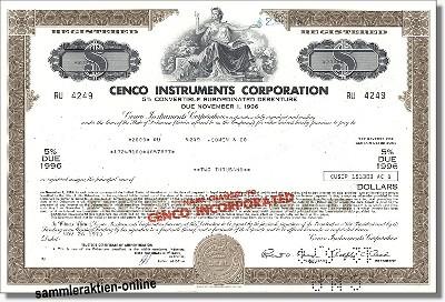 Cenco Instruments Corporation