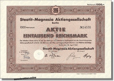 Steatit-Magnesia AG