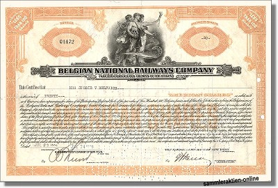 Belgian National Railways - Belgische Staatseisenbahn