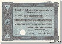 Schubert & Salzer Maschinenfabrik - Rieter