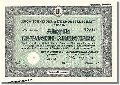 Hugo Schneider AG