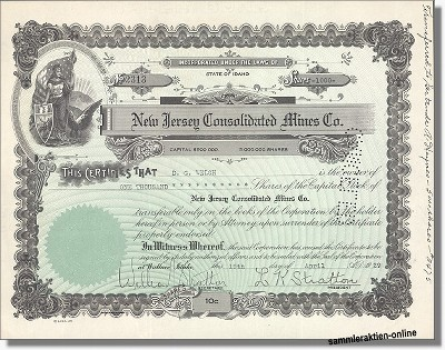 New Jersey Consolidated Mines Company