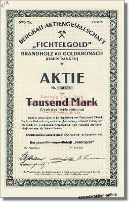 Bergbau-Aktiengesellschaft Fichtelgold