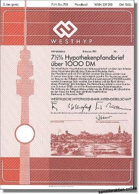 Westhyp - Westfälische Hypothekenbank AG