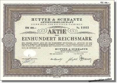 Hutter & Schrantz AG