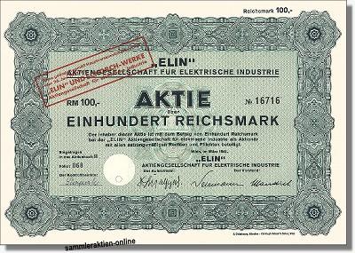 Elin AG für elektrische Industrie