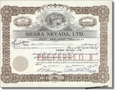 Sierra Nevada Ltd.