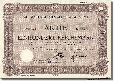 Papierfabrik Sebnitz AG