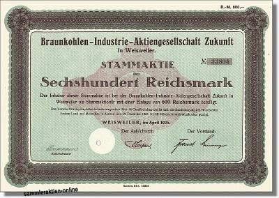 Braunkohlen-Industrie-AG Zukunft