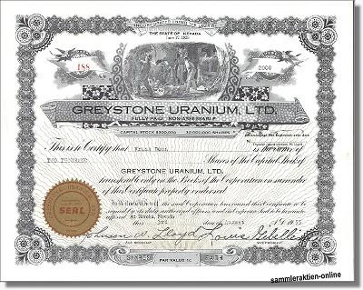 Greystone Uranium Ltd.