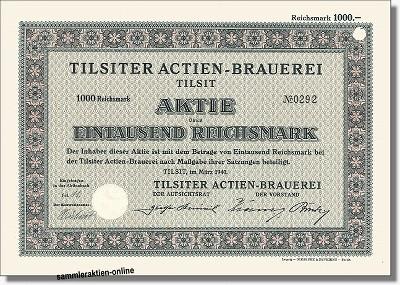Tilsiter Actien-Brauerei