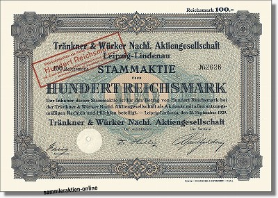 Tränkner & Würker Nachf. AG