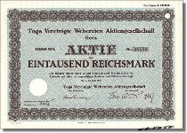 Toga Vereinigte Webereien AG