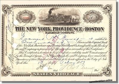 New York, Providence and Boston Railroad Company
