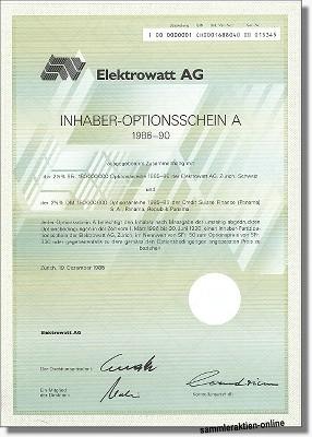 Elektrowatt AG