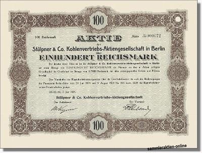 Stülpner & Co. Kohlenvertriebs-AG