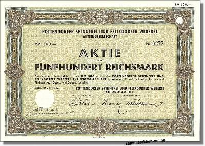 Pottendorfer Spinnerei und Felixdorfer Weberei AG
