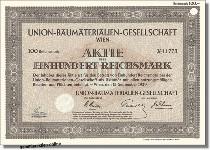 Union-Baumaterialien-Gesellschaft<br>UBM Realitätenentwicklung AG