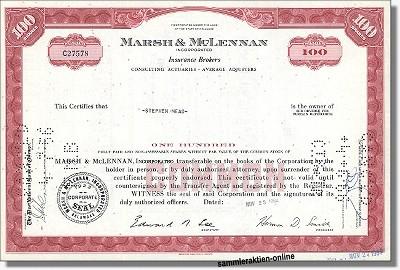 Marsh & McLennan Incorporated
