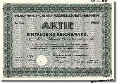 Mannheimer Versicherungsgesellschaft