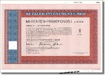 Metzler Investment GmbH - MI-Renten