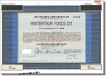 Deutscher Investment Trust - DIT Winterthur