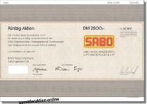 Sabo Maschinenfabrik AG