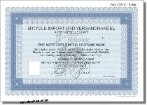 Bicycle Import und Versandhandel AG