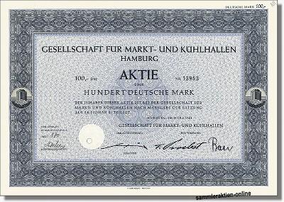 Gesellschaft für Markt & Kühlhallen AG