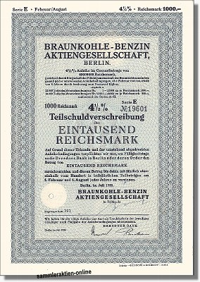 Braunkohle-Benzin AG