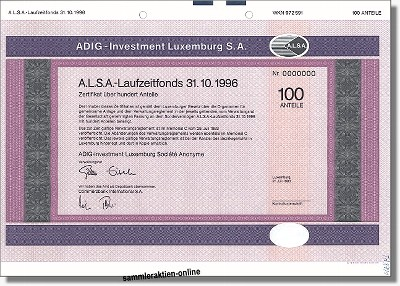 Adig - Investment Luxemburg S.A.