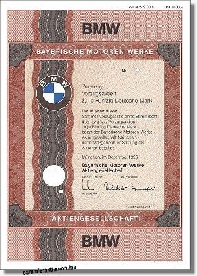 BMW Bayerische Motoren Werke AG