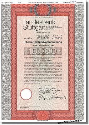 Landesbank Stuttgart, Württembergische Kommunale Landesbank Girozentrale